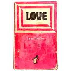 """Love Saves The Day"" Harland Miller, 2014 15 Color Silkscreen Print"