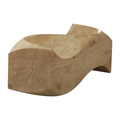 Love Cedar Seat Bench, Designed by Jake Phipps, Made in Italy