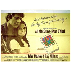 Love Story, 1970 Poster