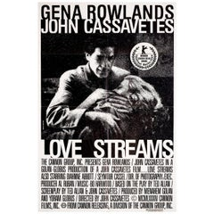 Love Streams 1984 Canadian One Sheet Film Poster