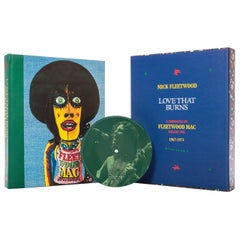 """""""Love That Burns"""" by Mick Fleetwood, Signed, Limited Edition Book"""