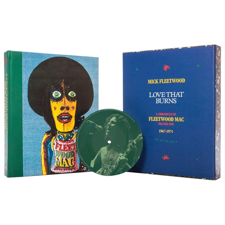 """""""Love That Burns"""" by Mick Fleetwood, Signed, Limited Edition Book For Sale"""