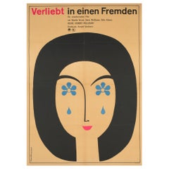 Love with the Proper Stranger 1966 East German Film Poster, Schleusing