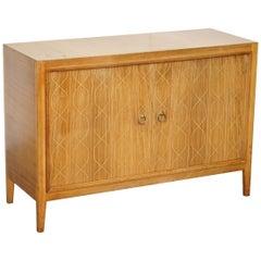 Lovely 1953 Gordon Russell Double Helix Sideboard Hardwood and Bombay Hardwood