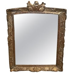 Lovely 19th Century Giltwood Mirror with Loads of Character