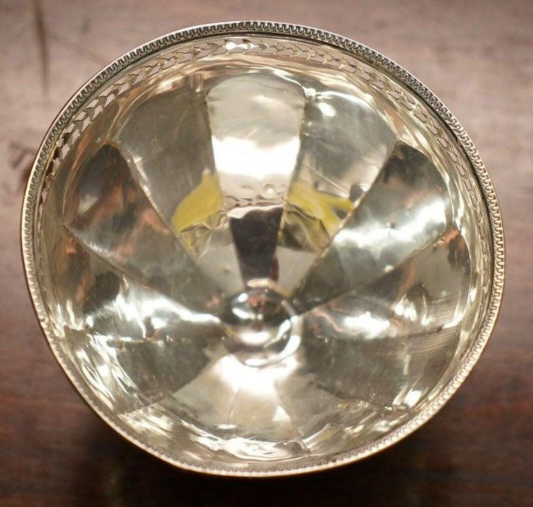 Women's or Men's Lovely Asprey & Co Ltd London Sterling Silver Fully Hallmarked 1914 London Bowl For Sale