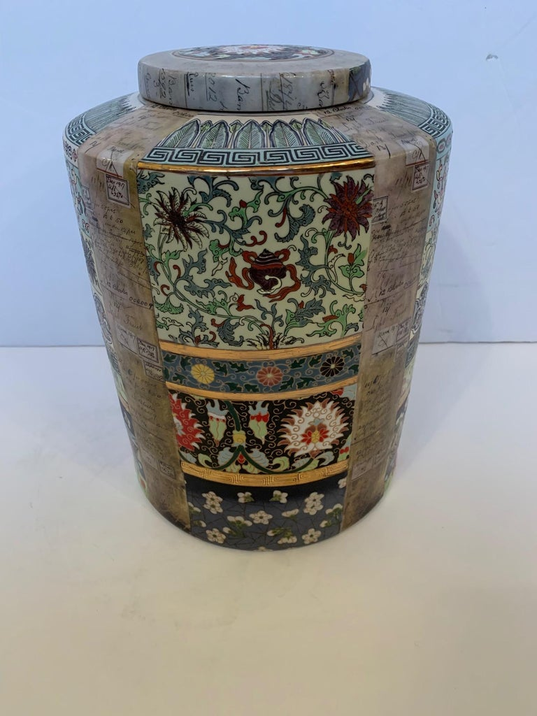 Lovely Fabienne Jauvin Lidded Vessel For Sale 5