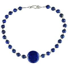 Lovely Lapis Lazuli Necklace