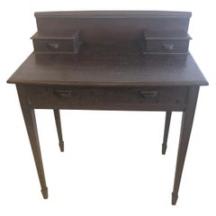 Lovely Nantucket Faux Painted Antique Writing Desk