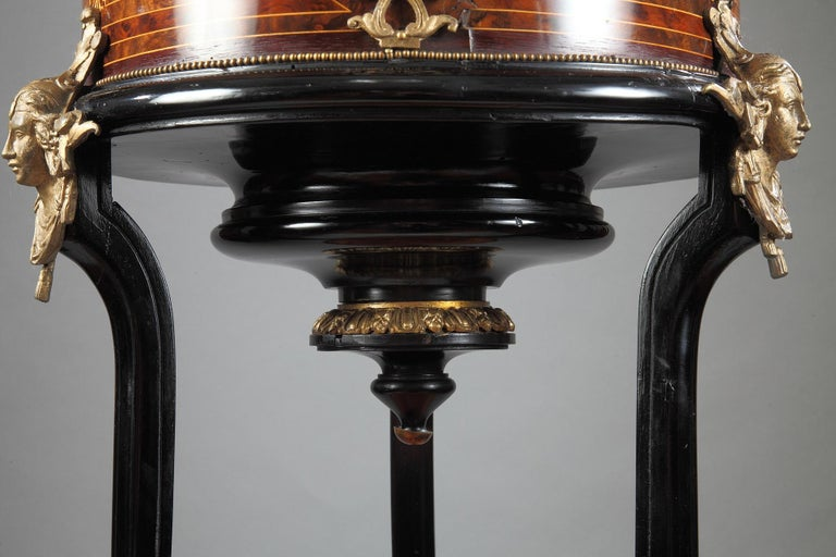 Lovely Neo-Greek Planter Attributed to C-G Diehl In Good Condition For Sale In PARIS, FR