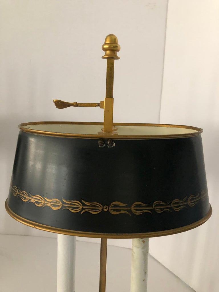 Lovely Pair of French Bouillotte Lamps For Sale 3