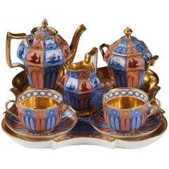 """Lovely Paris Porcelain """"Tête à tête"""" Tea Set by Gailliard"""