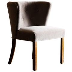 Lovely Side Chair by Fritz Hansen, Denmark, 1930s