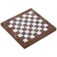 Lovely Solid Marble Vintage Medium Sized Chess Board Must See Pictures Good Gift