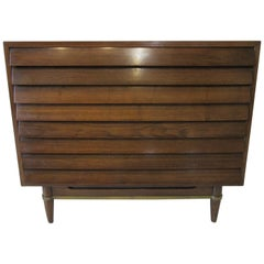 Lovered Walnut Small Dresser / Chest by American of Martinsville