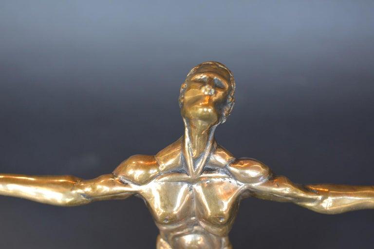 Bronze Loves Flight Ascension by John David Jagger For Sale