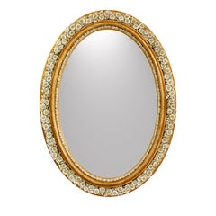 Loves Me Loves Me Not Oval Mirror
