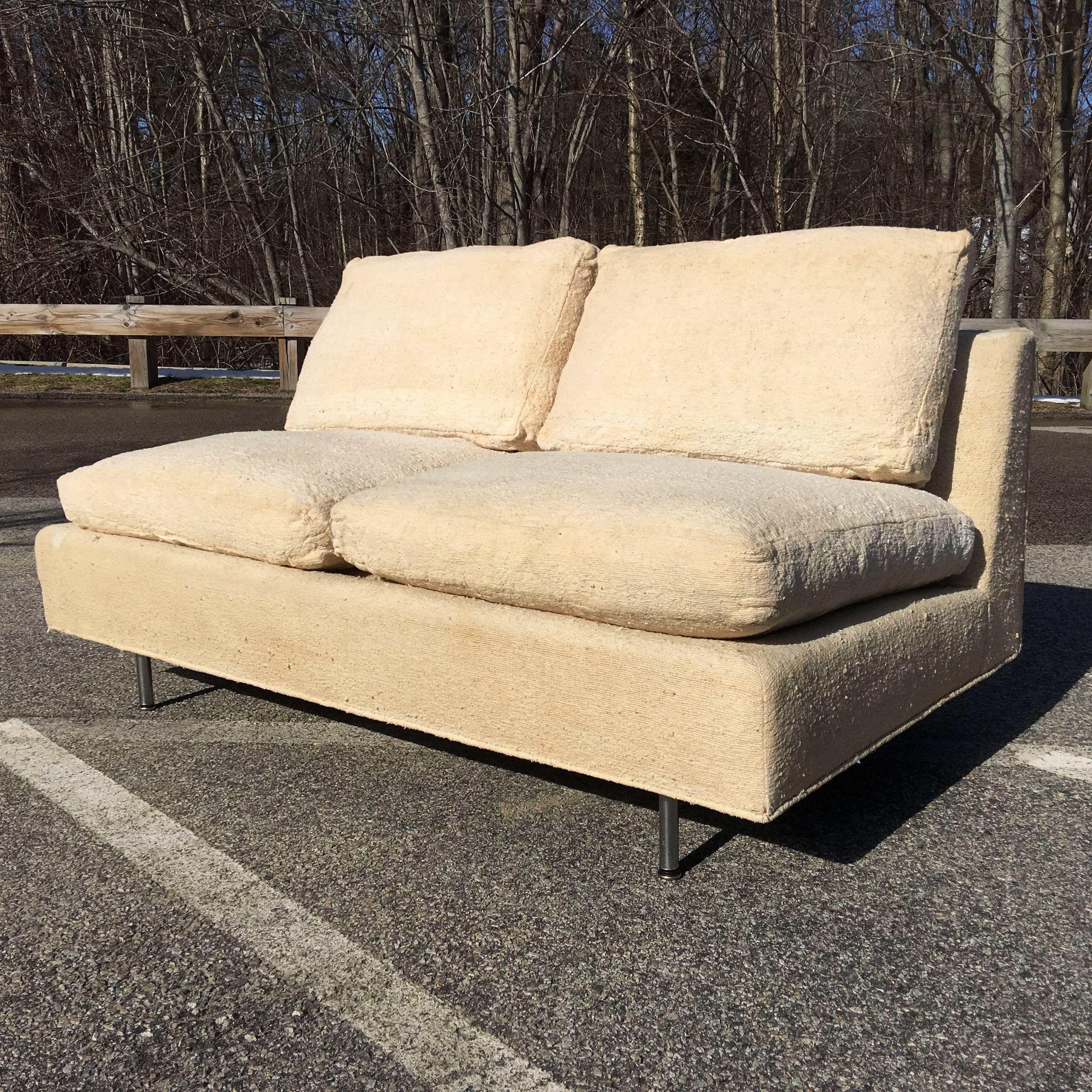 American Loveseat Sofa By Ben Thompson Of Design Research For Sale