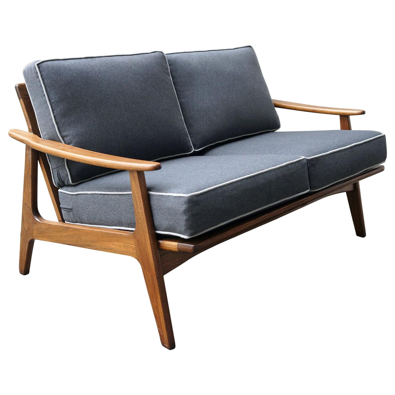 """Loveseat Sofa Mexican Midcentury by """"Malinche"""", 1950s"""