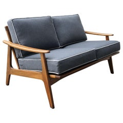 "Loveseat Sofa Mexican Midcentury by ""Malinche"", 1950s"