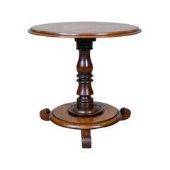 Low, Antique Wine Table, English, Victorian, Mahogany, circa 1850