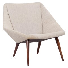 Low Back Lounge Chair 93 by Nanna Ditzel for Søren Willadsen, Denmark, 1950s