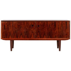 Low Danish Sideboard by E. Brouer for Brouer Møbelfabrik, 1960s