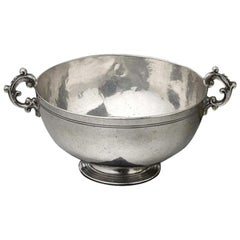 Low Footed Silver Bowl Sicily, circa 1690