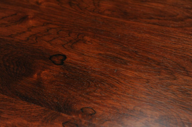 Low Italian Modern Rosewood Coffee Table by Gianfranco Frattini, 1956 For Sale 5