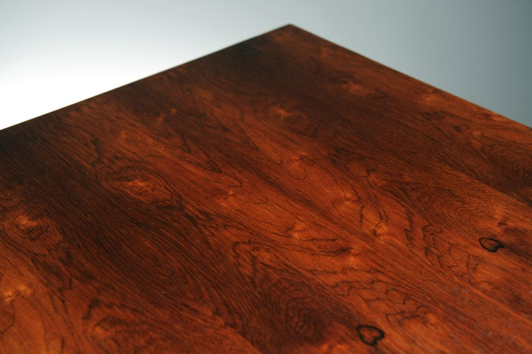 Low Italian Modern Rosewood Coffee Table by Gianfranco Frattini, 1956 For Sale 6