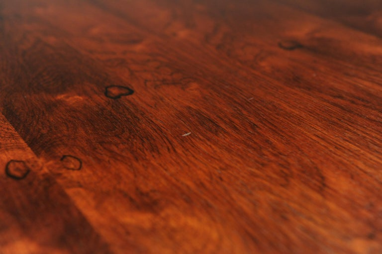 Low Italian Modern Rosewood Coffee Table by Gianfranco Frattini, 1956 For Sale 14