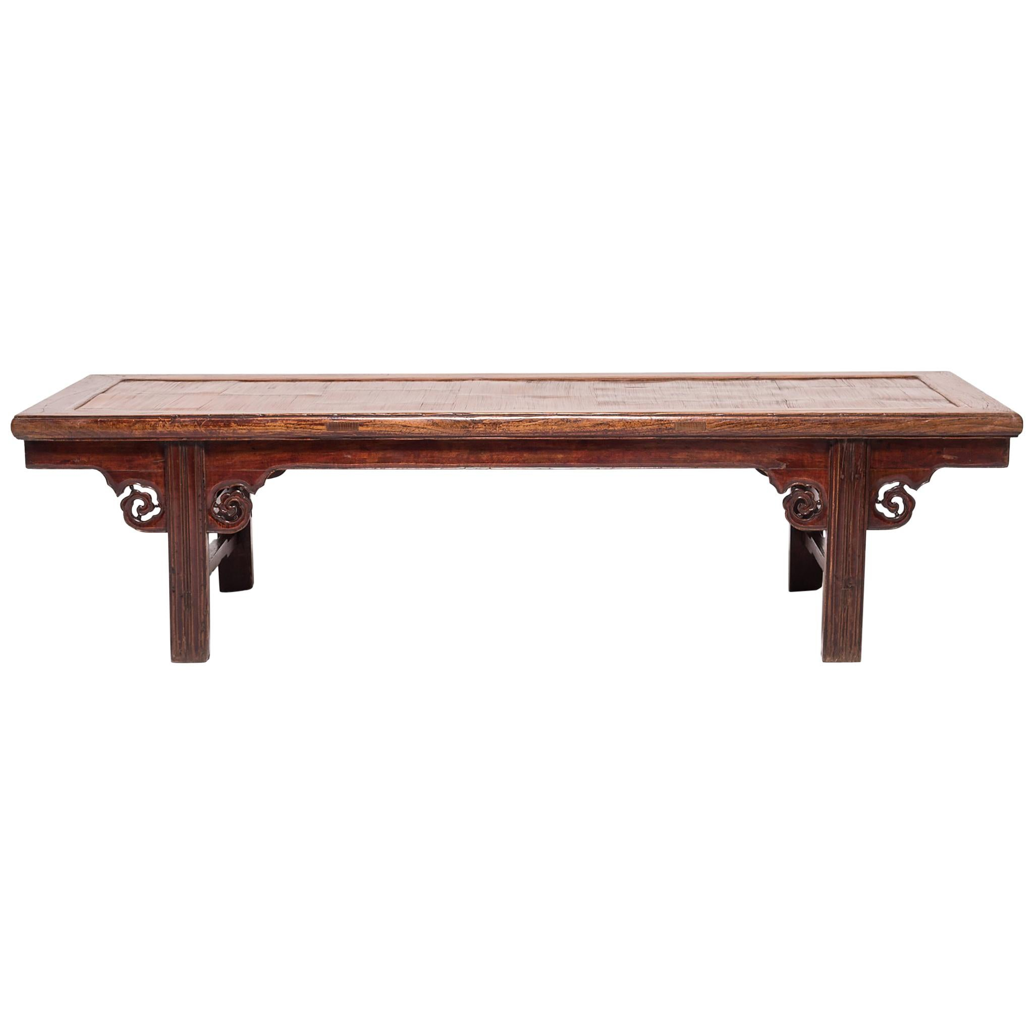 19th Century Chinese Low Kang Table