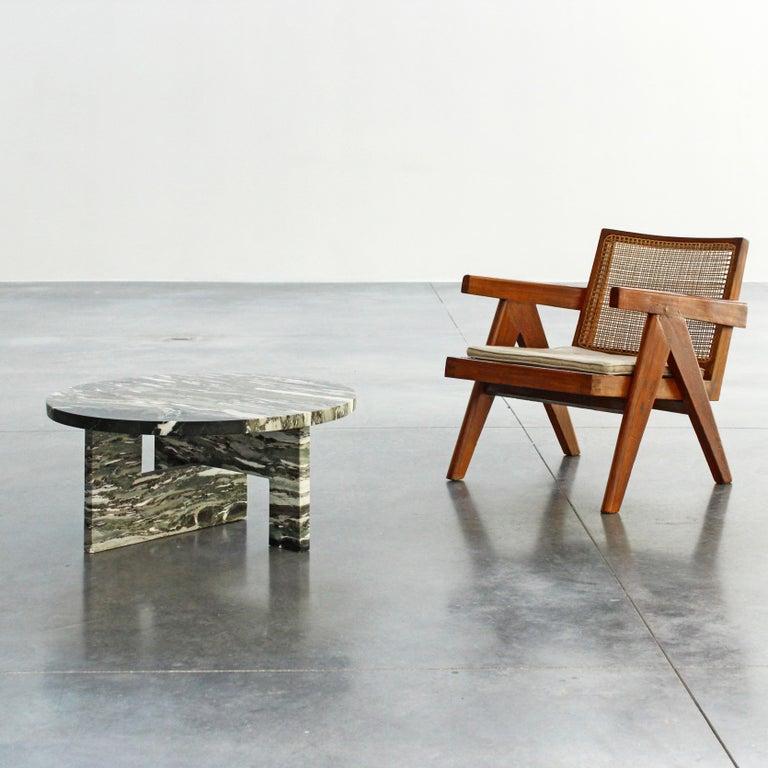 European Low Marble Table, Sébastien Caporusso For Sale