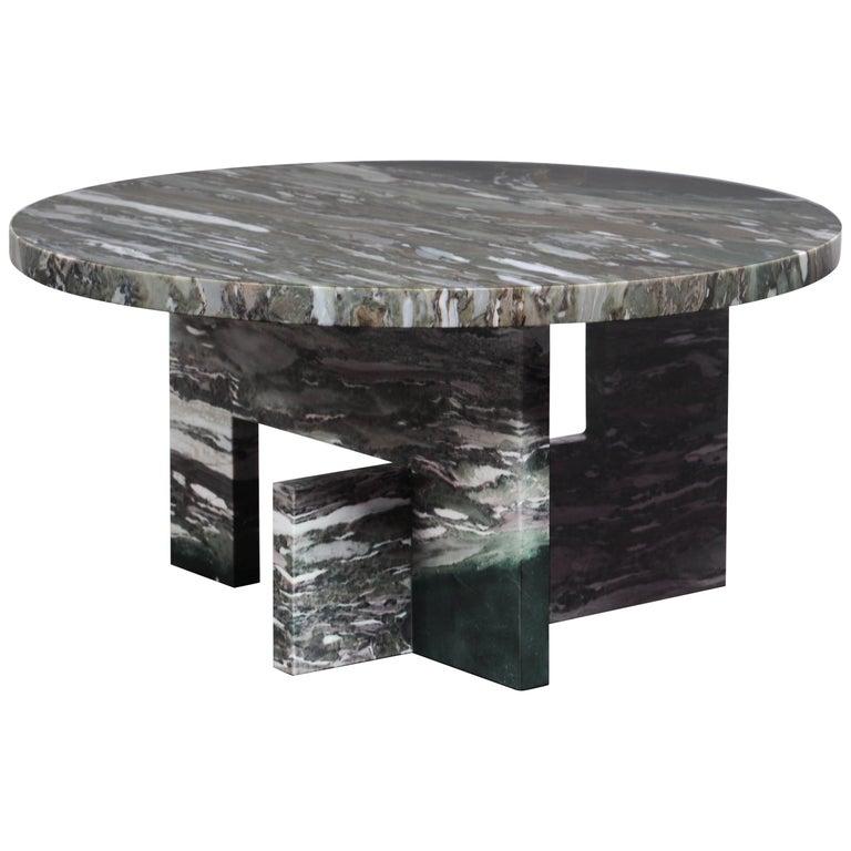 Low Marble Table, Sébastien Caporusso For Sale
