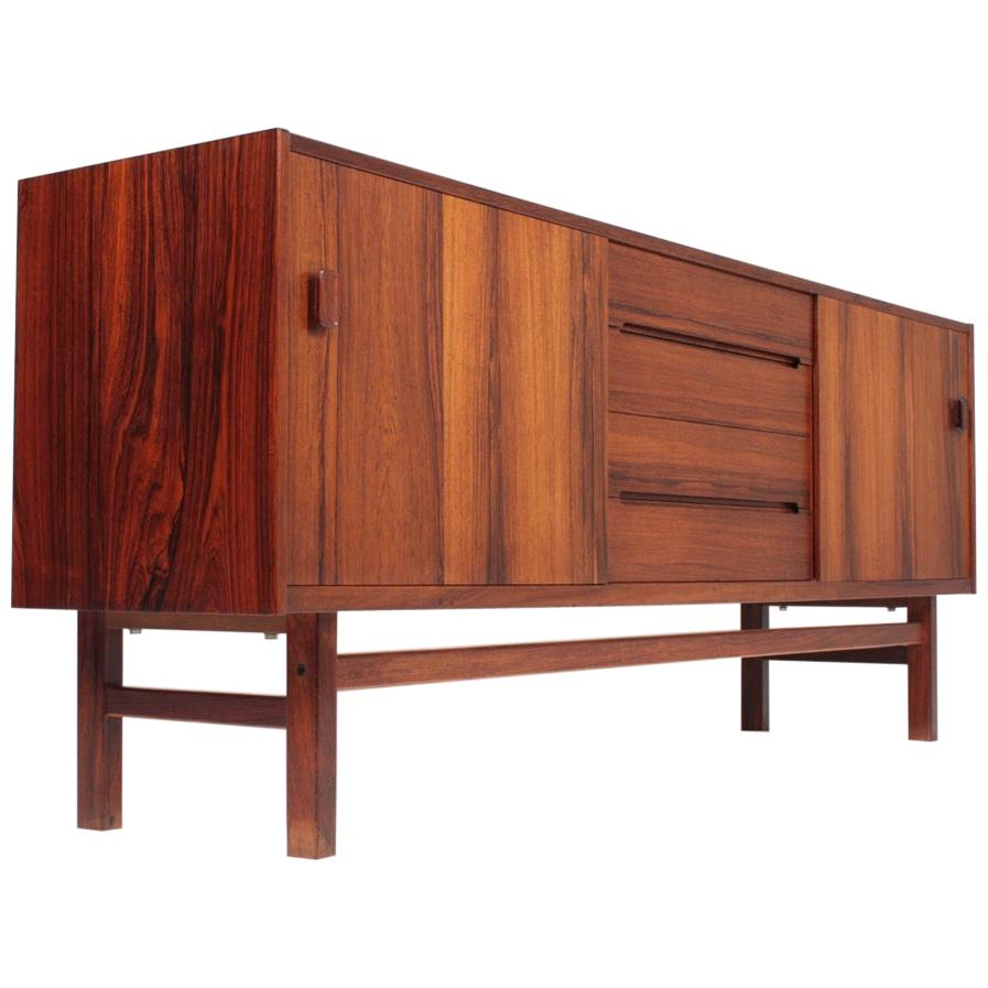 Low Midcentury Sideboard in Rosewood, by Nils Jonsson, Swedish, 1960s