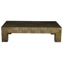 Lacquered Modern Low Coffee Table
