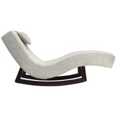 Low Rocking Chaise by Adrian Pearsall