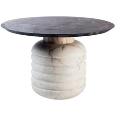 Low Side Table Jean in Marble