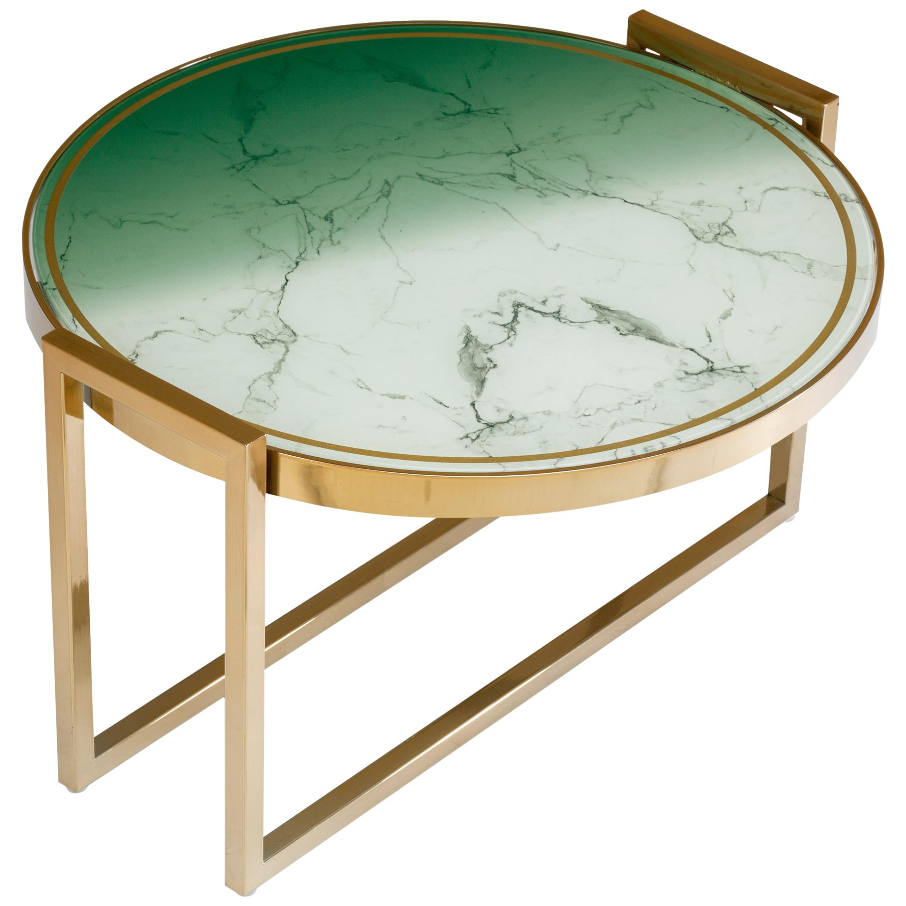 Low Side Table Norman Brass