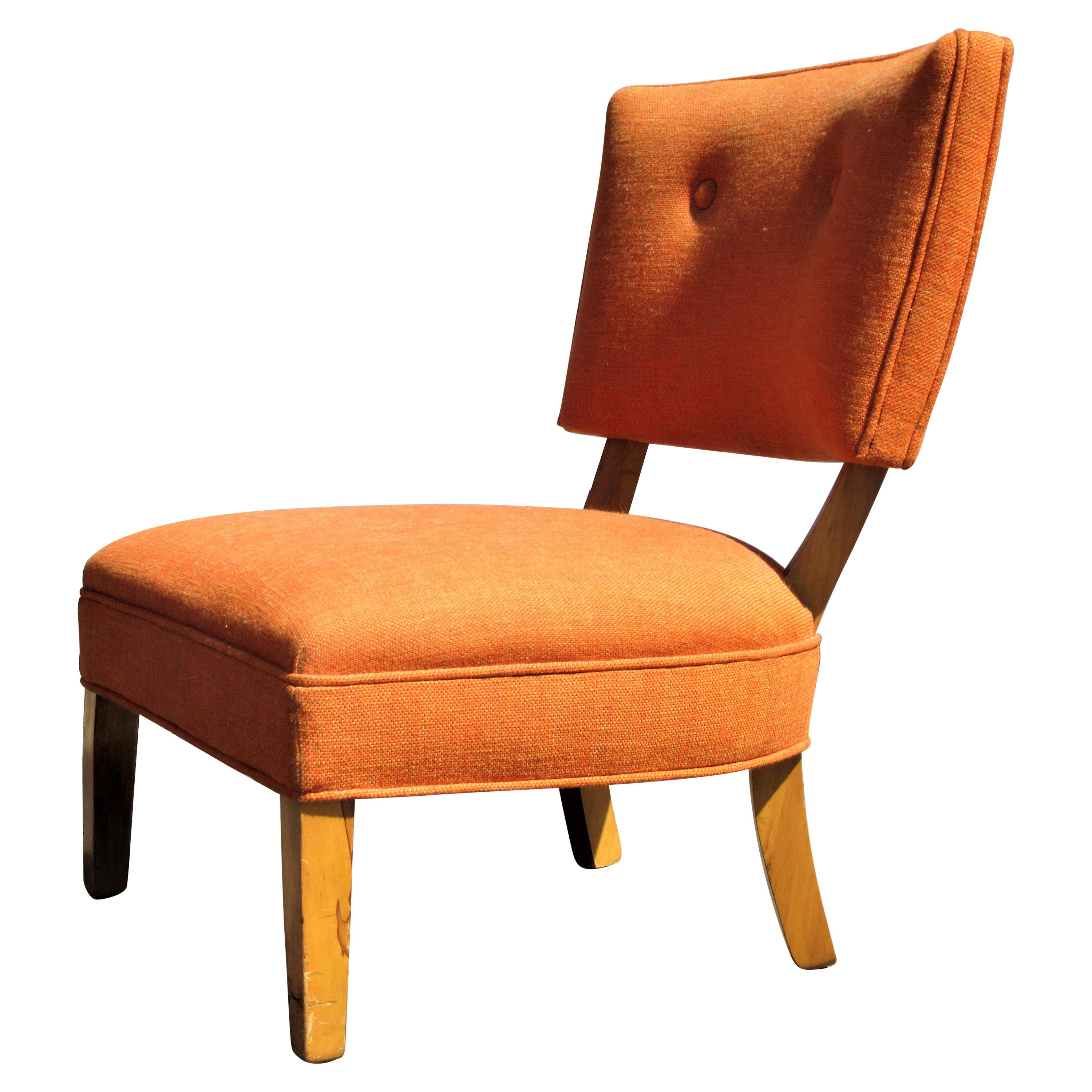 Low Slipper Lounge Chair in the style of William Haines