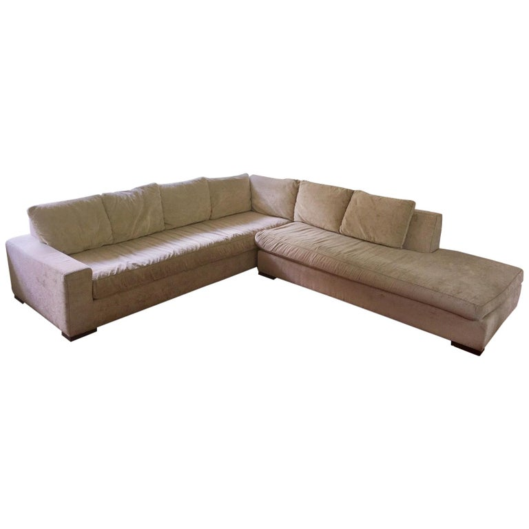 Low Slung And Sexy Huge Sectional Sofa By Lee Industries