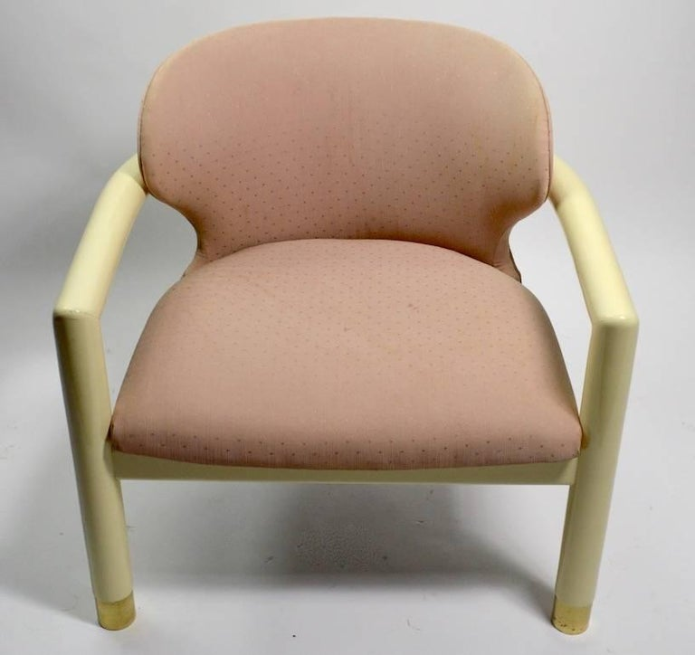 Low Slung Lounge Chair by Century Furniture Company In Good Condition For Sale In New York, NY