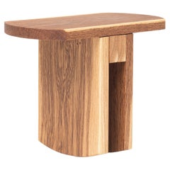 """Low Stool """"Oslinchik 07"""" Natural Oak Collection"""