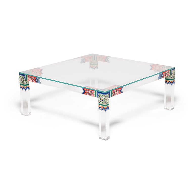 Ming Low Summer Palace Table by July Zhou For Sale