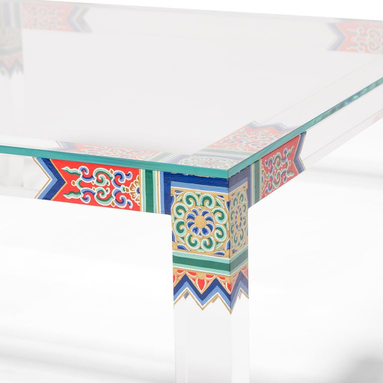 Low Summer Palace Table by July Zhou In Excellent Condition For Sale In Chicago, IL