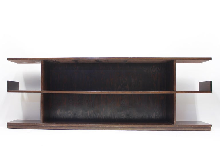 Scandinavian Modern Low Swedish Bookshelf, Attributed to Axel Einar Hjorth, 1930s For Sale
