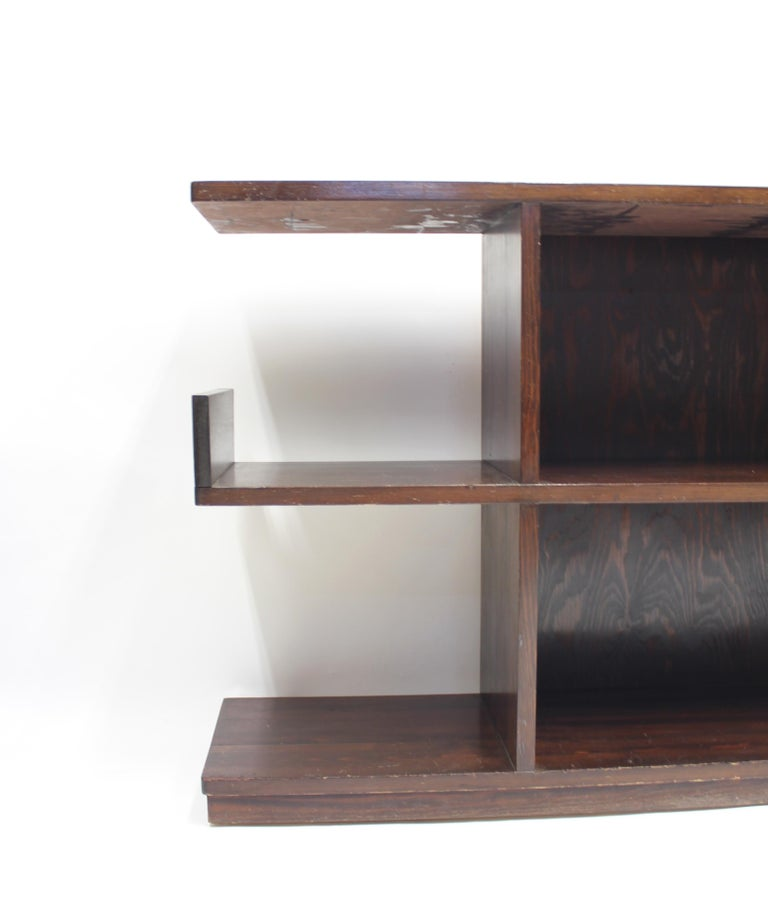 Low Swedish Bookshelf, Attributed to Axel Einar Hjorth, 1930s For Sale 3