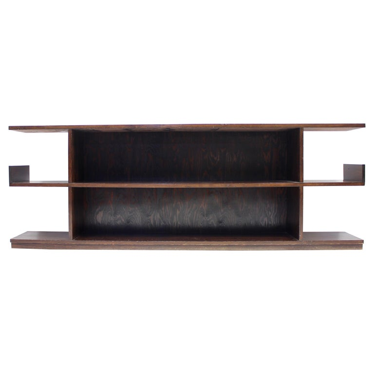 Low Swedish Bookshelf, Attributed to Axel Einar Hjorth, 1930s For Sale