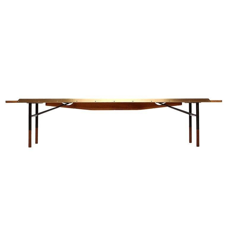 Awesome Finn Juhl Benches 7 For Sale At 1Stdibs Pabps2019 Chair Design Images Pabps2019Com