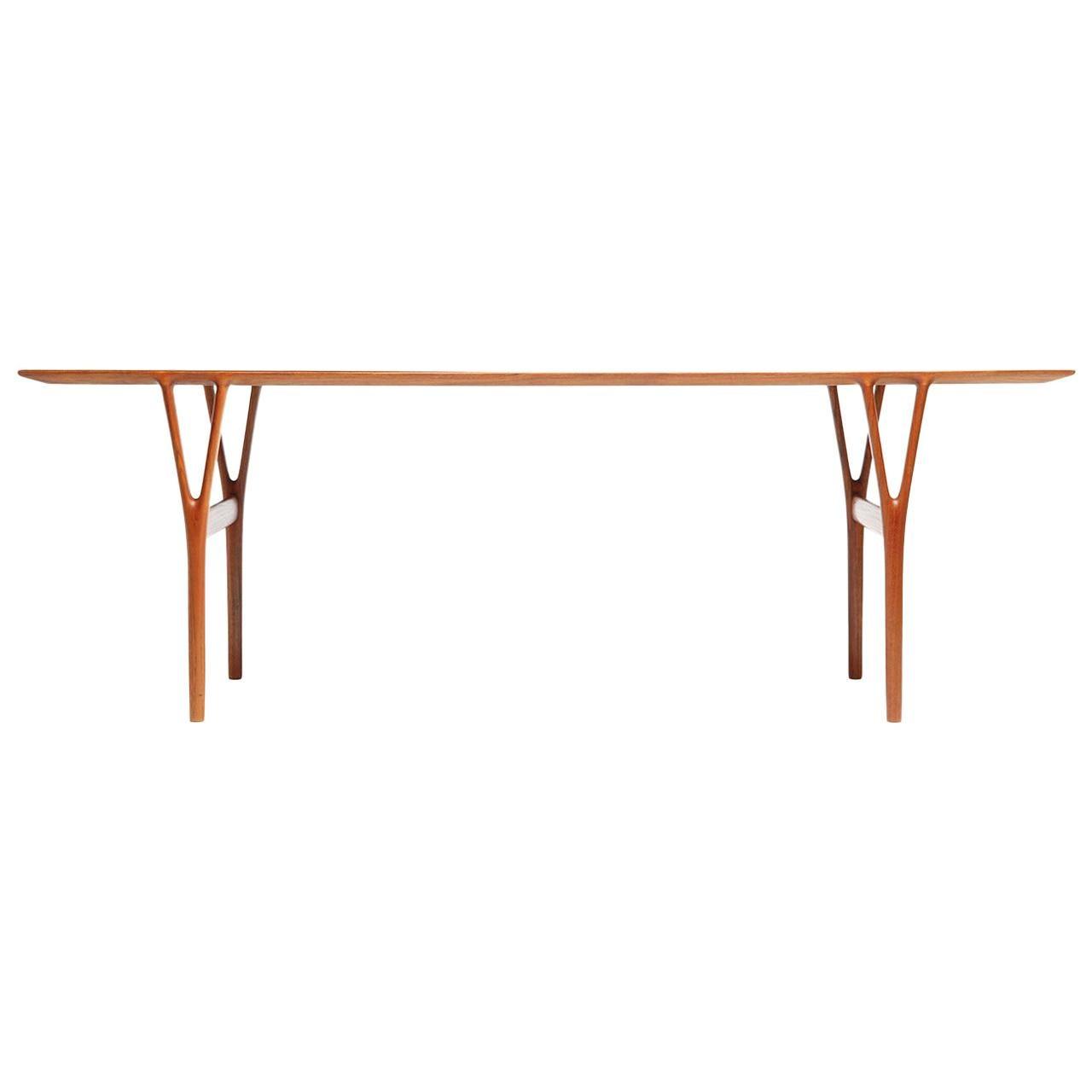 Low Table by Helge Vestergaard-Jensen for Peder Pedersen